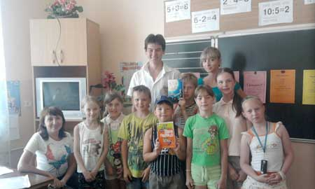 Some Kids in Russia, who wish that Doug Macloed was there. Sadly, they got Stalin instead, whose books have not sold nearly as well.