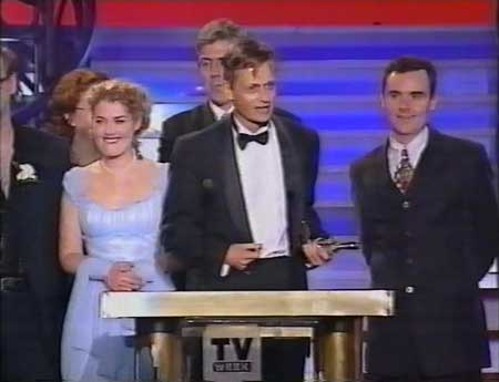 Doug Macleo at the Logies, 1996